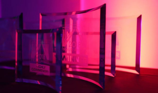 RAS wins 'The Most Innovative Cross Functional Solution' at the 2018 Fraud Awards