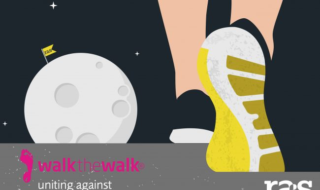 RAiSing a STORM in a C-Cup! – RAS unite against Breast Cancer with 'Walk the Walk'