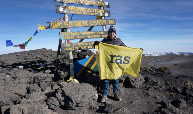 World Metal Health Day ~ George summits Mt. Kilimanjaro for MIND